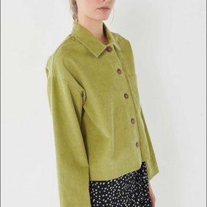 Urban Outfitters Clark Corduroy Shirt Jacket